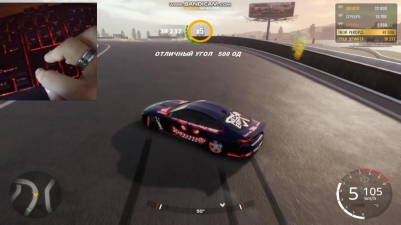 Car x drift racing Springstone record 77k