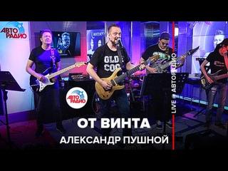 Александр Пушной - От Винта ( Смешарики  cover) LIVE @ Авторадио