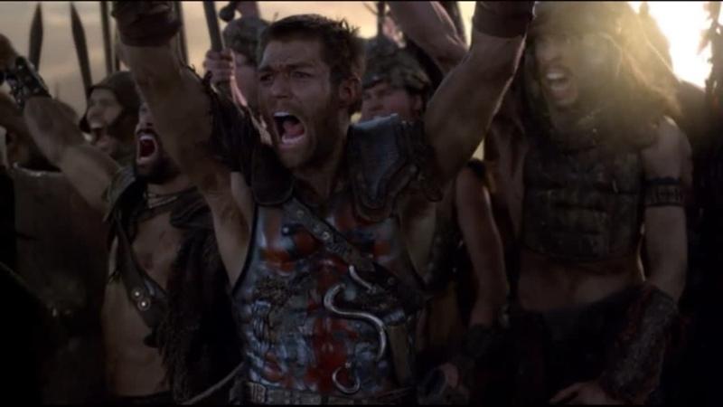 Спартак Война проклятых Резня на вилле