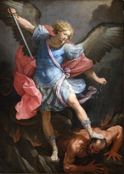 San Michele. Guido Reni, 1635