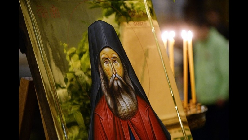 Детям о святых преподобный Силуан Афонский Телеканал Радость моя