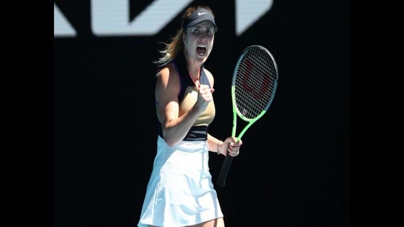 Свитолина оформила победу в первом круге Australian Open