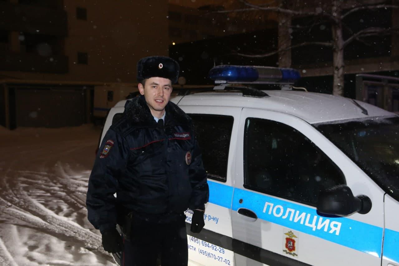 Лучшим патрульным Москвы стал полицейский из Нижегородского. Фото Ярослав Чингаев. Местные новости