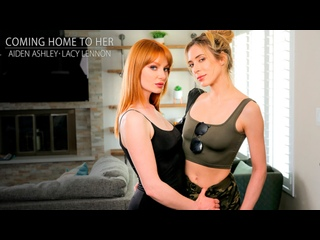 Aiden Ashley, Lacy Lennon - Coming Home To Her [PornCube ПОРНО ВК new Porn vk HD 1080 Lesbian Redhead