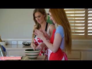 BrattySis Ashley Lane, Jane Rogers Step Sisters Valentines Cookie- Bratty Sis Family Step POV Cumshot Teen