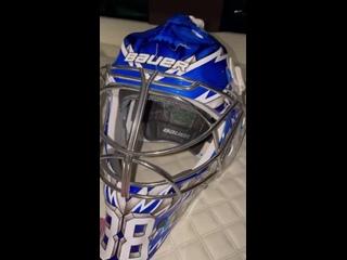 Новый шлем Василевского