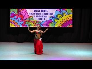 Федоренко София! 1 место , юн.нач .Фестиваль индийских,восточных и цыганских танцев Sagat 5 марта, 2016 u
