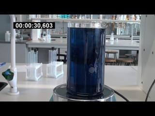 Химические часы. Колебательная реакция Бриггса — Раушера