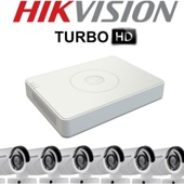 Комплект TurboHD видеонаблюдения Hikvision DS-J142I/DS-7108HGHI-E1