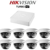 Комплект TurboHD видеонаблюдения Hikvision DS-2CE56D1T/7108HGHI-SH