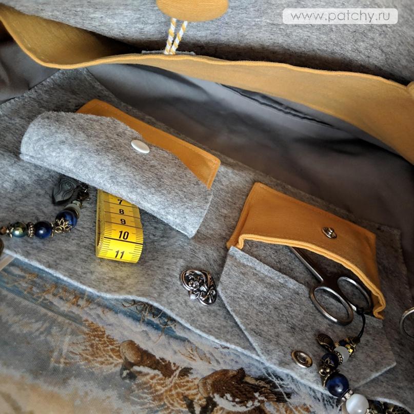 Сумка-органайзер для рукоделия, изображение №18