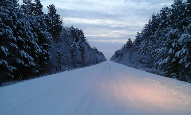 Зимняя дорога в тишину и к.. рыбе