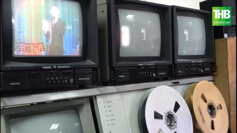 Архивная запись выступления Ильгама Шакиров на одном из первых видеомагнитофонов