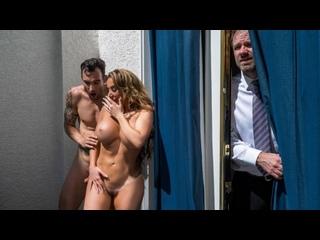 Richelle Ryan - Balcony Bluff |  All Sex MILF Big Tits Sneaky Blowjob Doggystyle Cowgirl Brazzers Porn Порно