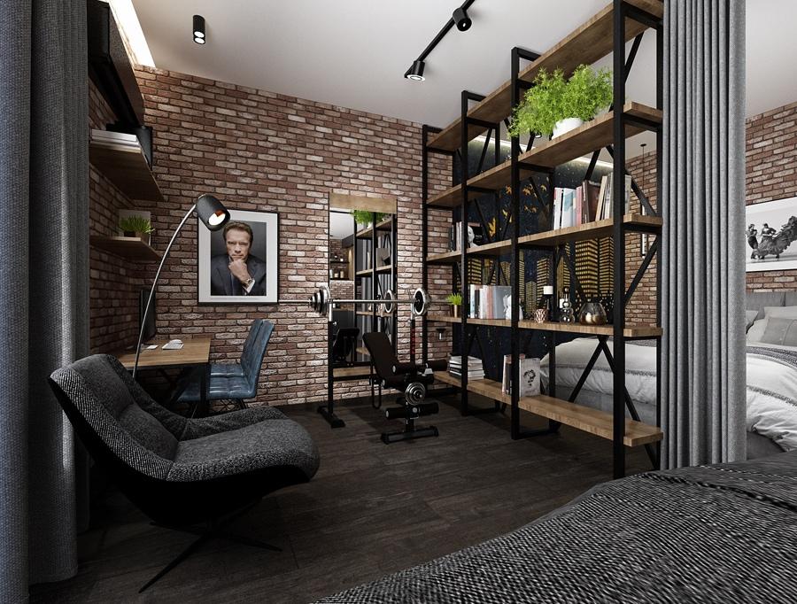 Проект квартиры почти 54 кв.