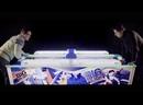 Всепогодный коммерческий аэрохоккей WIK Big Wave 8 футов
