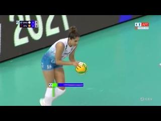 Волейбол ЛЧ женщины 2-й тур 2-й матч Динамо Москва vs Вк  Штутгарт