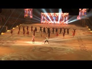 Финал ледового шоу Татьяны Навки «Руслан и Людмила» в Екатеринбурге