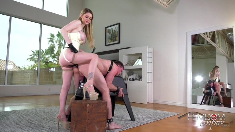 Bunny Colby Man Maids Femdom, Strapon, Pegging, Anal, Stockings, Chastity,