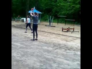 Проект «Тренируйся дома». Легкая атлетика. Видео 156