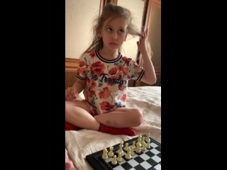 Урок по шахматам от Киры