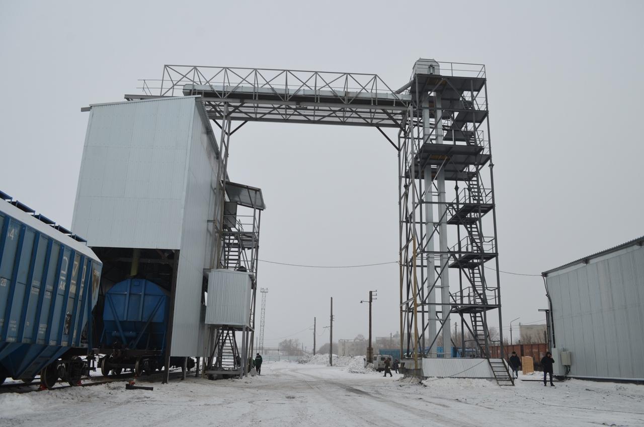 В Петровске открыли отгрузочную площадку нового хлебоприёмного пункта