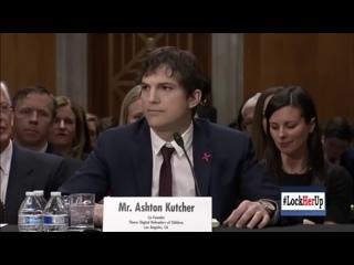 Ashton Kutcher über Pizzagate (HD Deutsch)