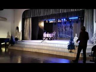 Первое выступление Мирона в театральной студии