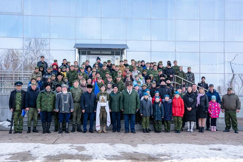 Уйские казаки и казачата провели военно-патриотическую игру, изображение №6