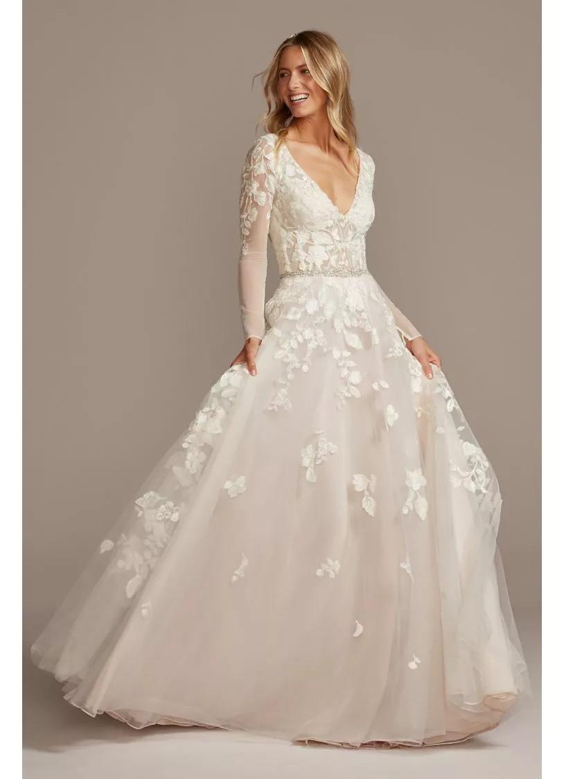 2M0rbPgivf0 - 21 романтическое платье для невесты в 2021 свадебном сезоне
