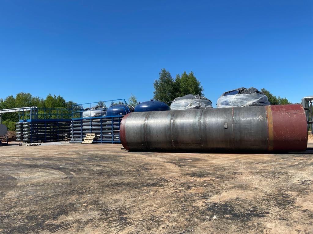 В Можге продолжается строительство канализационно-очистных сооруженийВ настоящее