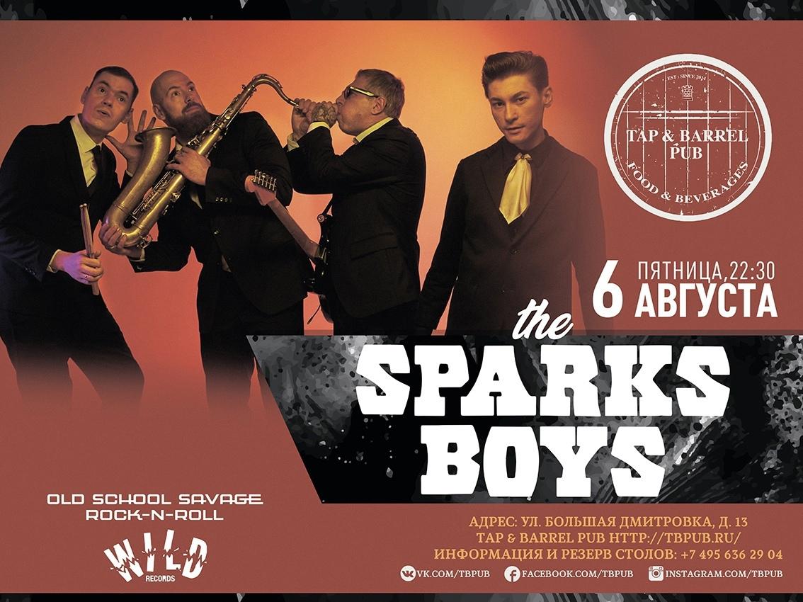 06.08 The Sparks Boys в пабе Tap & Barrel!