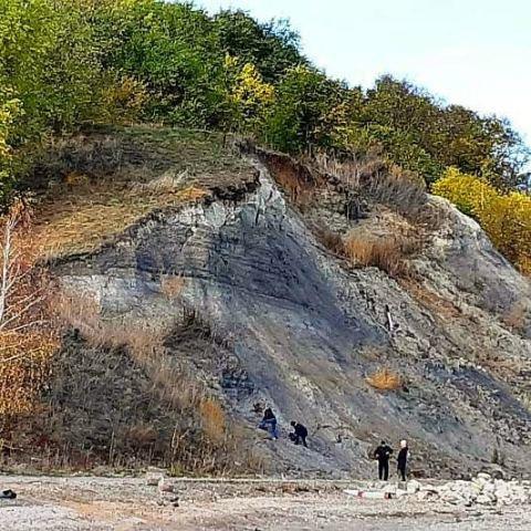 Месторождение голубой глины
