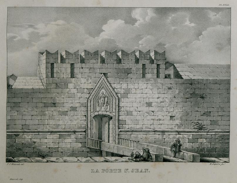 Ворота св. Иоанна, 1830