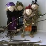 Баба-Яга в технике народных кукол — МК и идеи