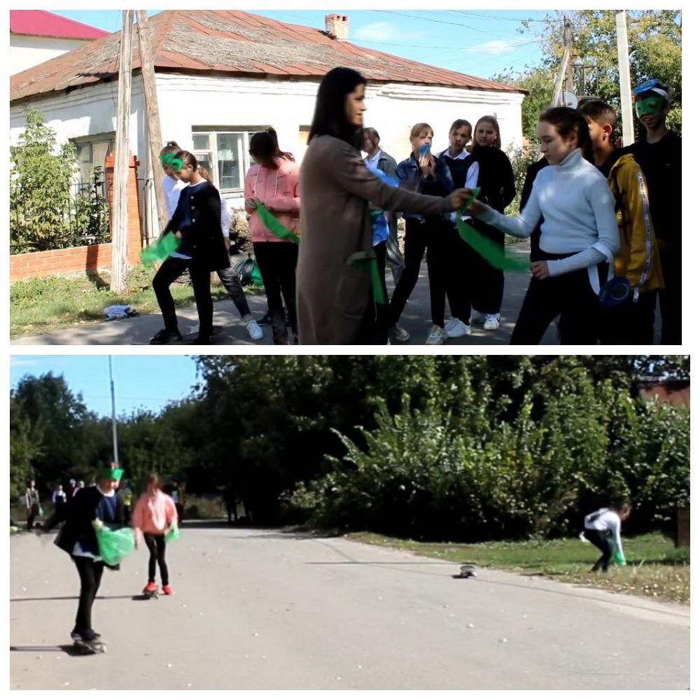 Петровские школьники провели экологические акции