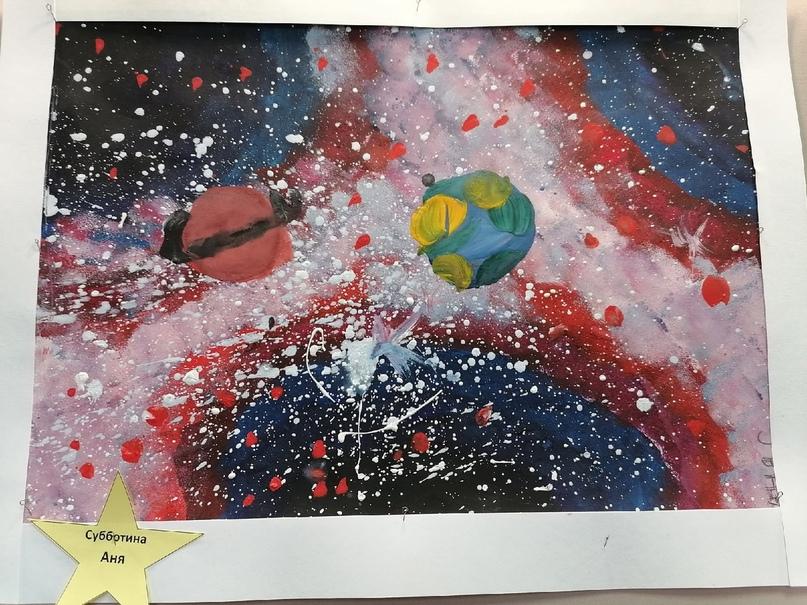 Выставка рисунков, посвящённая 60 -летию полёта в космос Юрия Гагарина, изображение №10