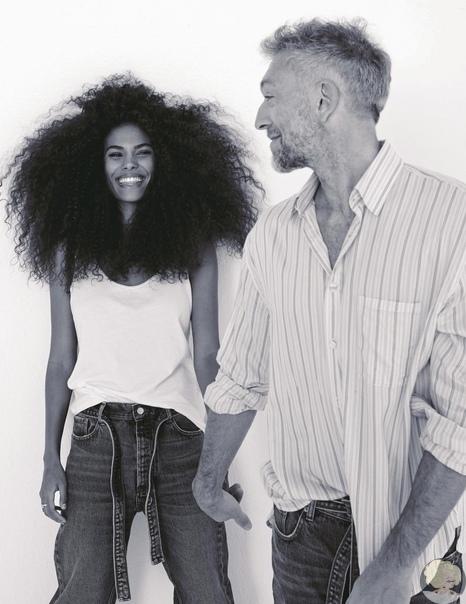 Тина Кунаки и Венсан Кассель снялись в первой совместной рекламной кампании