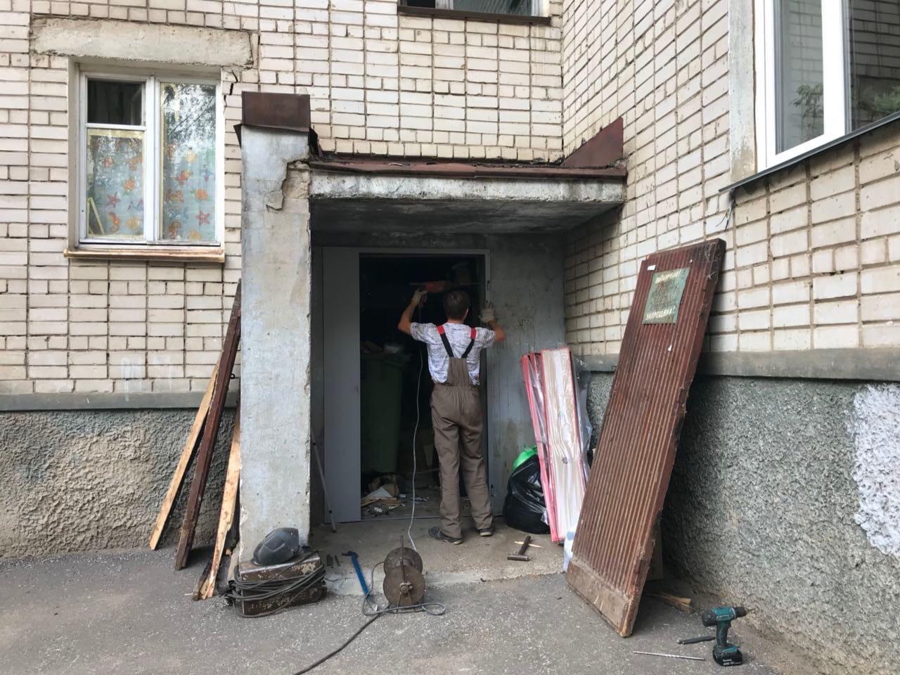 Улица Ердякова дом 6 демонтаж старой и