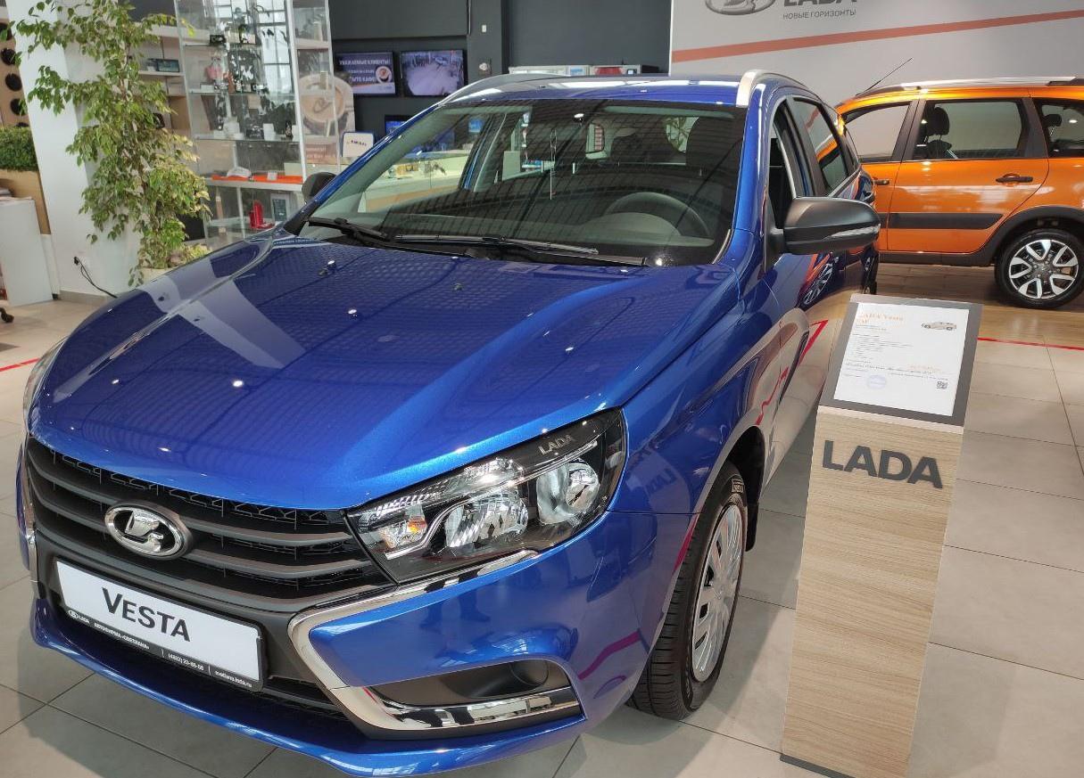 Автомобили LADA в наличии и под заказ.