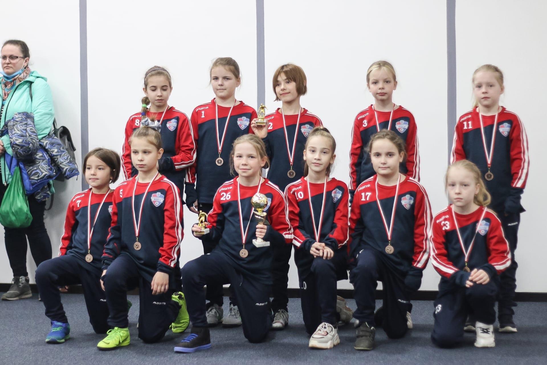 Минск (девочки 2011) — Бронзовый призер Утешительного турнира