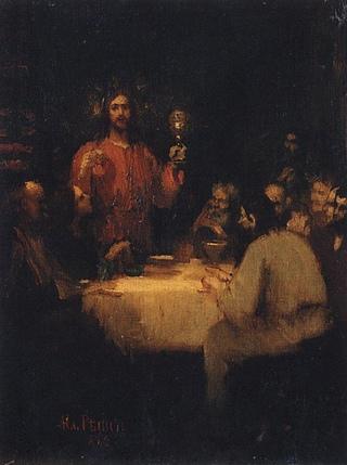 Евангелие в живописи, страсти Христовы. Илья Ефимович Репин.