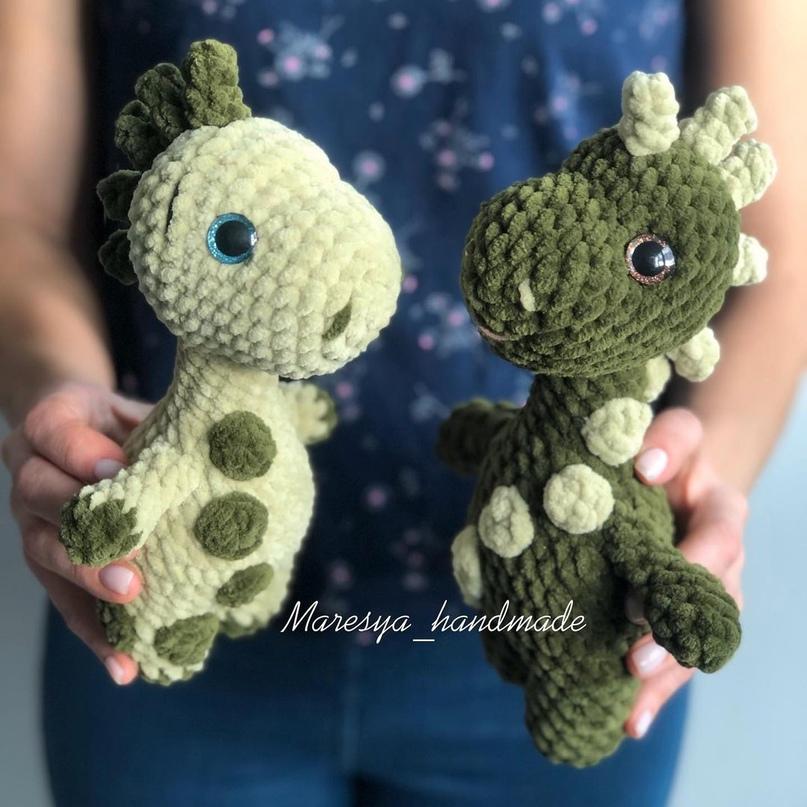 Динозаврики. Автор maresya_handmade