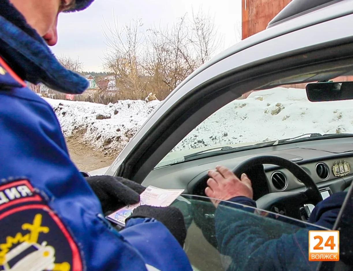 Госавтоинспекция Волжска проведет массовую проверку по нетрезвым водителям