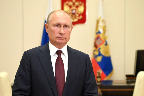 Путин не исключил, что ему придется уйти на карантин http...