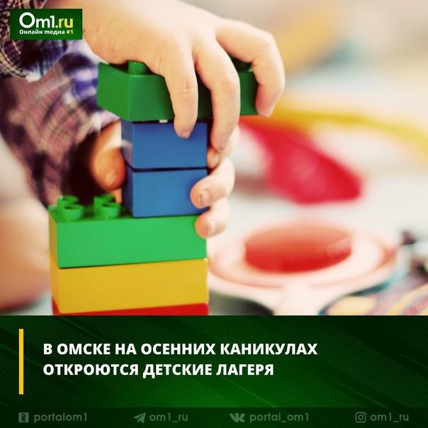 В Омске на осенних каникулах откроются детские лагеряВ ко...