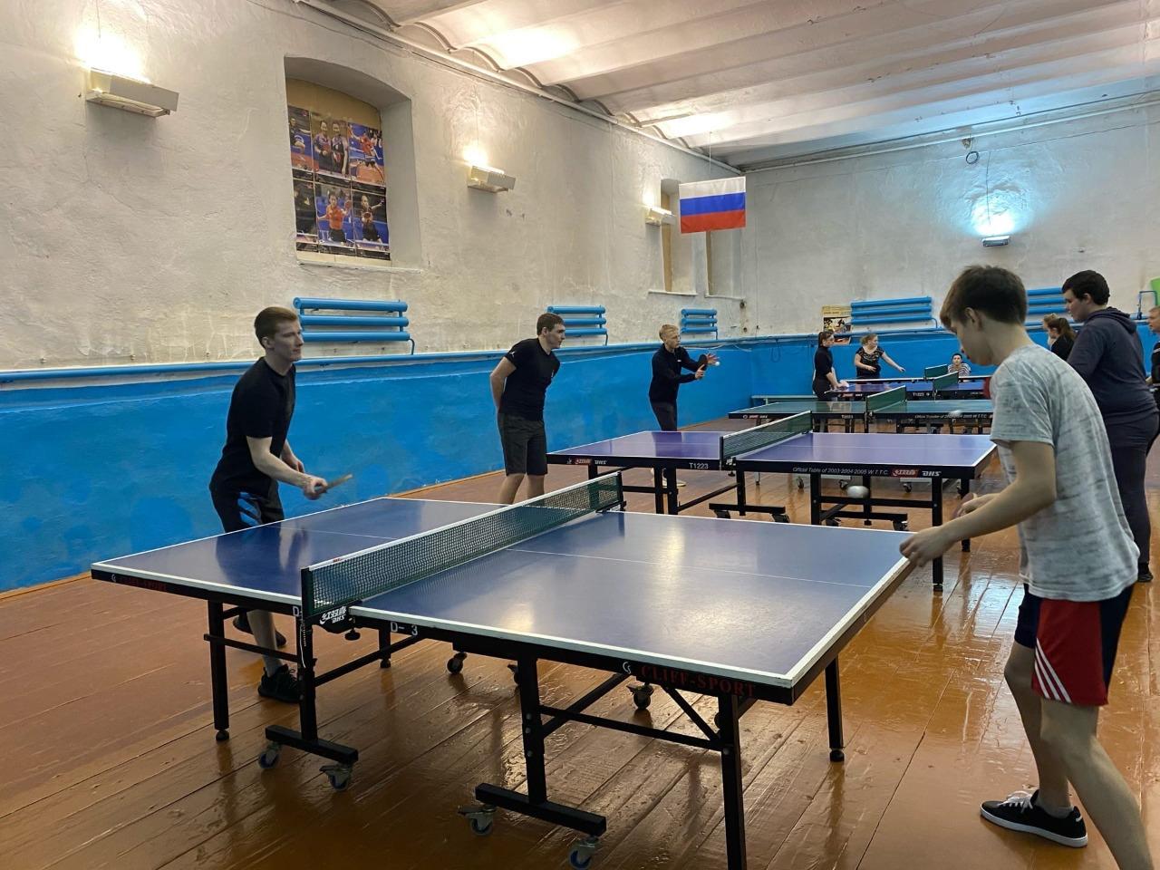 Первенство города Ирбита по настольному теннису