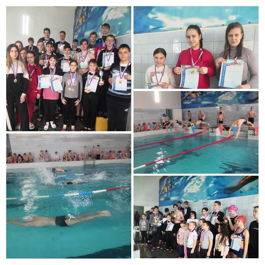 В бассейне «Дельфин» состоялось открытое первенство по плаванию