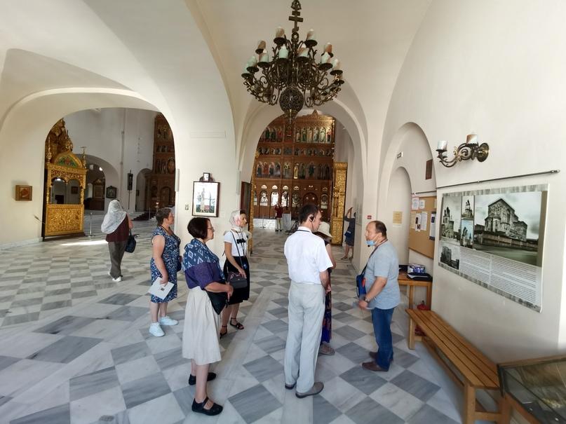 Экскурсия по верхнему храму Феодоровского собора