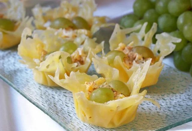 Сырные корзиночки для салата